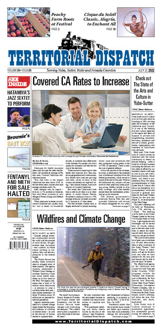 Territorial Dispatch Front Page